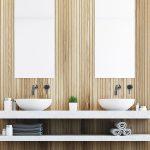 Inbouw wastafelkranen RVS badkamer